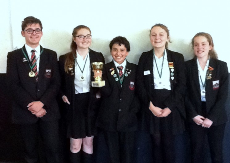 APS students win first aid competition